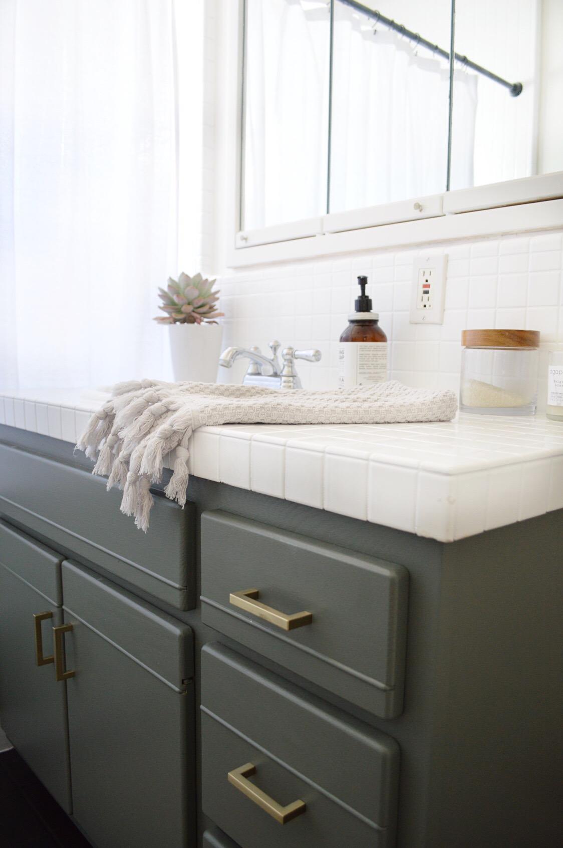 Modern Coastal DIY Bathroom Remodel